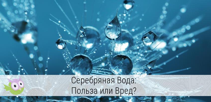 серебряный ионизатор для воды польза или вред