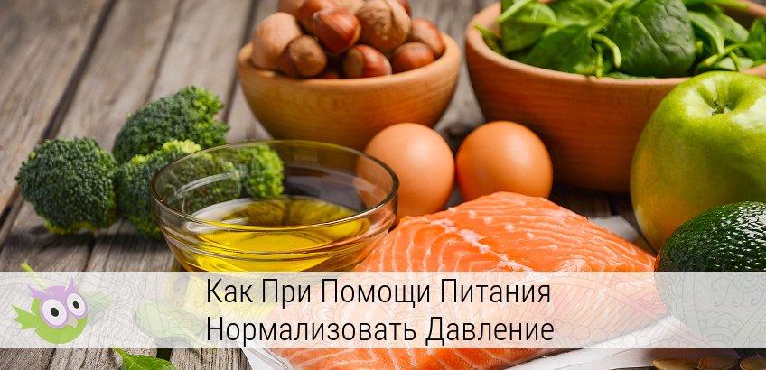 продукты нормализующие артериальное давление