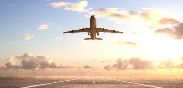 самолет взлет