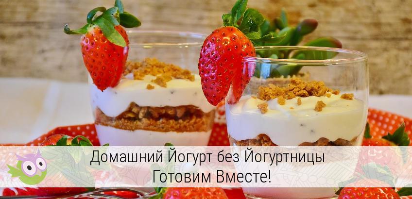 Как сделать домашний йогурт в домашних условиях 334