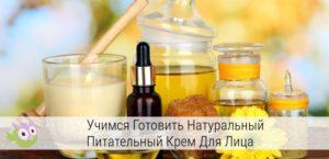 Изготовить питательный крем в домашних условиях - Mink-caps.ru