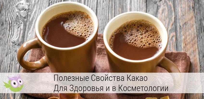 полезные свойства какао и противопоказания
